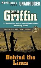 W E B Griffin BEHIND THE LINES Unabridged 15 CDs 18 Hours *NEW* FAST Ship!