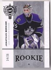 JONATHAN BERNIER RC 2007-08 UPPER DECK THE CUP ROOKIES PLATINUM #14/25 KINGS