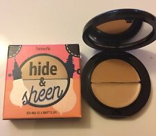 benefit cosmetics Hide & Sheen boi ing concealer corrector 02 & Watt's Up