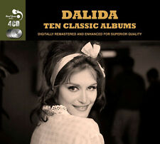 Dalida TEN CLASSIC ALBUMS Som Nom Est GONDOLIER Les Gitans NEW SEALED 4 CD