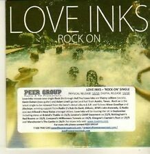 (CP382) Love Inks, Rock On - 2011 DJ CD