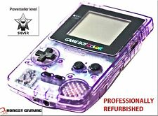 NEW SCREEN -------- ATOMIC GRAPE PURPLE NINTENDO GAME BOY COLOR CGB-001