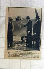 1940 East India Fund Flight, Captain Harold Balfour, Sir Alexander Murray