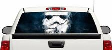 Stormtrooper smoke Wrap rear window graphics Decal Sticker 66'' x 22'' Truck SUV
