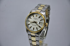 Rolex 1500 Date 34mm Automatic Mens Watch Gold - SS Riveted Bracelet Cal. 1570