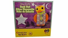 Sew Cute Sock Owl - Craft Kits by Creativity For Kids (1682) Craft Kit Gift