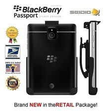 Seidio Spring-Clip Belt Holster for un-cased BlackBerry Passport Silver Edition