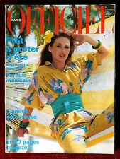 L'Officiel Paris Magazine ~ #642 May 1978 ~ Patrick Bertrand Claudia Cardinale
