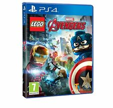 LEGO Marvel Avengers (PS4) PLAYSTATION BRAND NEW SEALED PRE-ORDER