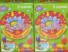 CRY BABY TEARS retro candy 4 boxes extra sour candy