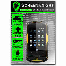 ScreenKnight JCB Toughphone Pro-Smart TP909 SCREEN PROTECTOR invisible shield