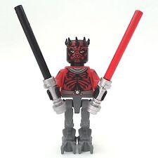 LEGO Star Wars personaggio Darth Maul Mechanical legs sw493 da 75022 2 spade laser