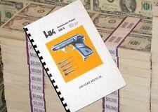 HECKLER & KOCH HK 4 MANUAL HK4 Automatic Pistol Gun Owners Manual