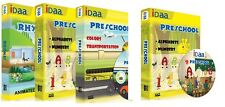 Combo of 4 Learning CDs / DVDs for Nursery & Pre-school kids-Transportation