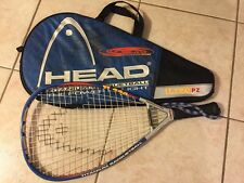 HEAD TI.220 PZ TITANIUM Racquetball The Power Zone System With Matching Case