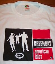 GREEN DAY American Idiot 2004 TOUR T-Shirt XL NEW