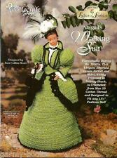 Abigail's Walking Suit Ladies of Fashion Crochet Pattern for Barbie Dolls NEW