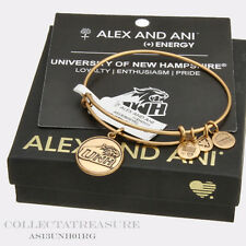 *DISCOUNT*Authentic Alex and Ani University of New Hampshire Logo Rafaelian Gold