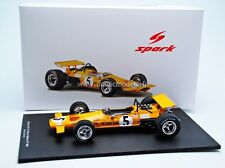 Spark McLaren M7A Winner GP F1 Mexico 1969 D. Hulme #5 1/18 New! In Stock!