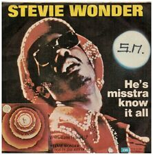 15807 - STEVIE WONDER - HE'S MISSTRA KNOW IT ALL