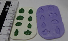 1:12 Scale 8 Differen Leaves Mold  - Mould Dolls House Miniature Garden