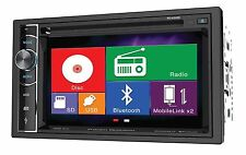 "Power Acoustik PD-62H2B 2 DIN CD/DVD Player 6.2"" Bluetooth Android MobileLink"