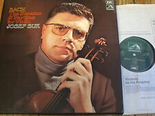 SLS 818 Bach The Violin Sonatas & Partitas / Suk 3 LP box