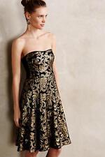 NWT $498 NANETTE LEPORE Anthropologie Byzantine Sequin Dress,sz.8