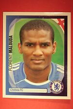 PANINI CHAMPIONS LEAGUE 2007/08 N. 139 MALOUDA CHELSEA WITH BLACK BACK MINT!!