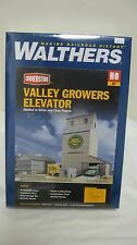 Walthers HO Valley Growers Grain Elevator Kit #933-3096 New in Box