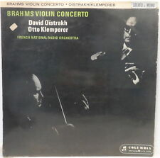 Columbia 33CX 1765 OISTRAKH / KLEMPERER Brahms - Violin Concerto in D Major LP