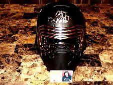 Kylo Ren Rare Signed Star Wars Prop Movie 1:1 Accurate Helmet Adam Driver COA