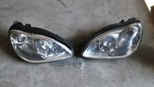 2005 MERCEDES W220 S CLASS PAIR OF HEADLIGHTS NON XENON FACELIFT