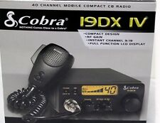 Cobra 19DX IV Mobile 40 Channel Compact CB Radio 19DXIV