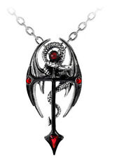 GENUINE Alchemy Gothic Pendant - Draconkreuz | Men's Fashion Necklace