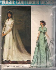 Vintage Vogue Bridal Gown Sewing Pattern 1156 Size 10