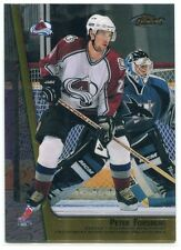 1998-99 Finest Double Sided Mystery Finest 27 Peter Forsberg/ Peter Forsberg