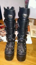 Demonia women's size 8 mens 6 boots KISS MARILYN MANSON knee high Gothic style