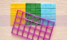 Multi square grid cutter cake cupckaes fondant UK Seller