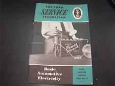 1959 Ford Mechanic Basic Automotive Electricity Service Handbook Forum Manual