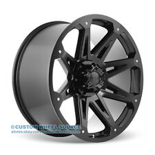 """20"""" Dcenti DW901 Black Wheel and Tire Package for Dodge Ford GMC Hummer Lincoln"""