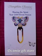 "Seraphim Classics Angels ""BUTTERFLY BOOKMARK"" 2000 Event Item Mint RARE!!"