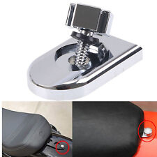 Seat Iron Cross Bolt Tab Screw Mount Knob Cover For Harley Dyna Softail Chrome