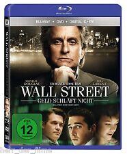 WALL STREET, GELD SCHLÄFT NICHT (Michael Douglas) Blu-ray Disc + DVD NEU