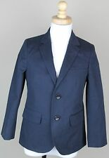 J.Crew Crewcuts Boys $168 Ludlow Suit Jacket Chino NWT 14 blazer navy blue 03525
