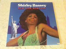 "SHIRLEY BASSEY (LP) -  ""NEW YORK, NEW YORK"" [CLUB EDITION / PRESIDENT REC.]"