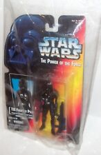 Star Wars POTF: Power of the Force IMPERIAL TIE FIGHTER, Kenner 1995 MOC SHARP!!