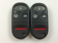 LOT OF 2 HONDA ACCORD ACURA TL KEY LESS ENTRY REMOTE 98-02 OEM 4-BUTTON CONTROL