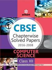 ARIHANT cbse Chapterwise Solved Papers COMPUTER SCIENCE - class 12th 2009-2016