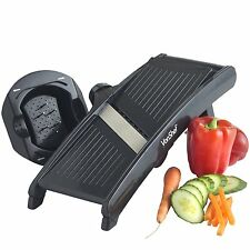 VonShef Mandoline Slicer with 3 Adjustable Blades by VonShef 3 stainless steel